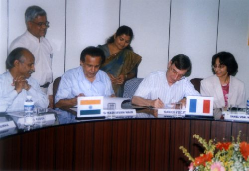 Megha-tropiques MOU signed